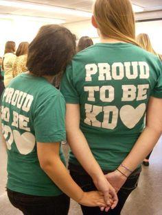 <3 this shirt. Proud to be Sigma Kappa!