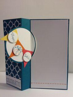 Stampin Up Circle Card Thinlits Die.