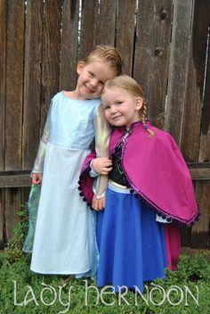 My Fairy Tale Elsa Dress from Disney's Frozen in by LadyHerndon, $95.00