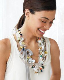 Curios Cluster Necklace - Martha Stewart Crafts