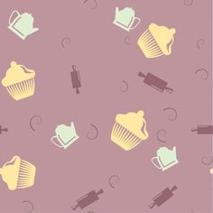 Crazy About Cupcakes Shelf Paper & Drawer Liner - Chic Shelf Paper