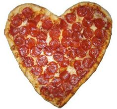 Valentine's Day pizza. Did this for dad last year.