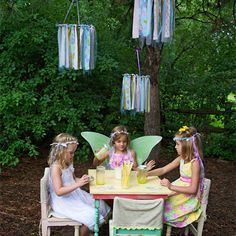 Love this sweet Woodland Fairy Party
