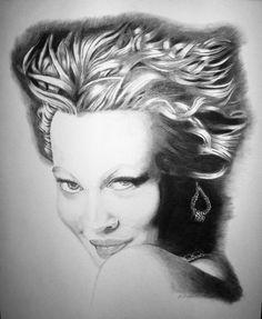 Pencil portraits By Ed Harris  Titled Drew  Original $400.00