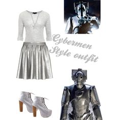 Cyberman Inspired outfit