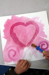 may painting kids, fair projects, mysteri paint, art idea, mysterious paintings, kindergarten lessons, craft idea, preschool, art projects