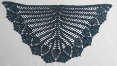 I promise you pineapples crochet shawl