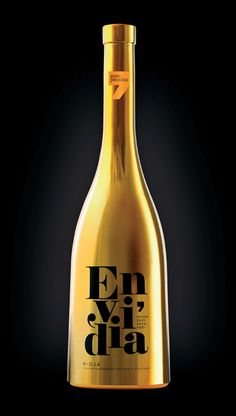 """7 Pecados""- Envidia/  '7 deadly sins'- Envy #packaging #vino by Sidecar, Spain #wine"