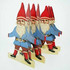 cut out gnome tomte