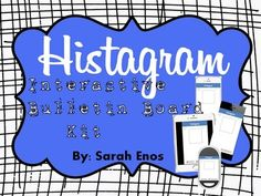Histagram Interactive Bulletin Board Kit...let your students create your bulletin board while learning history all at the same time!!