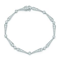 Tiffany Legacy Collection® bracelet in platinum with diamonds.