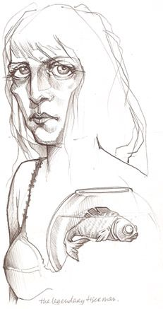 Sketches by Lea Nahon