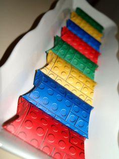 Lego Party Favor Pillow Boxes set of 20 by AFeltAffair on Etsy, $15.00 party favors, pillow box, lego parti, lego pillow, favor boxes, legos, loot box, parti favor, parti idea