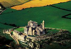 The Rock of Cashel, once the base of the Irish high king Brian Boru.