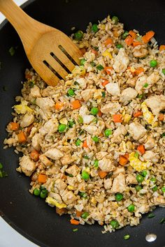 Chicken Fried Rice - One of my favorites!!