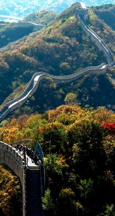 The Badaling section of the Great Wall of China • photo: Craig Hickson on Flashpacking Around the World