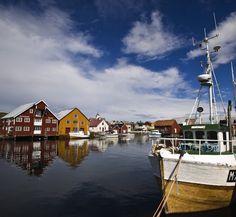 Visit the fishing village of Bud, Norway.