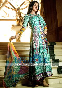 Ittehad Lawn Collection 2014 with Price | Lawn Suits Online USA   by www.dressrepublic.com