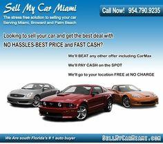 (954)790-9235 SellMyCarMiami.com