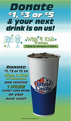 White Castle Wigs4Kids #pinup #local #fundraiser #nonprofit white castl, castl wigs4kid
