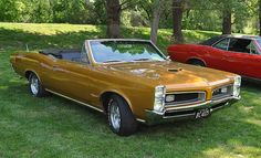 1966 Pontiac GTO Convertible; Non-typical, but great color