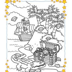 Hidden Picture Activity: Find the Diamond! Printable Games for Kids)