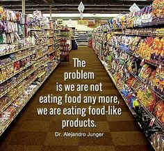 This is very true. If you have health issues it's definitely fixable by eating a whole food plant based diet. Nutritionally dense super foods.