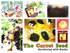 The Carrot Seed – Gardening with Books from Growing Green Fingered Kids