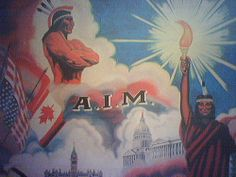 american indian movement poster, via Flickr.