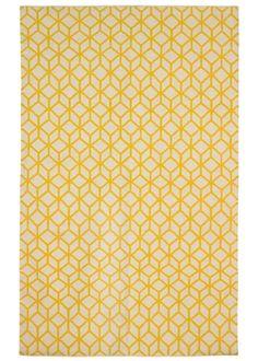DwellStudio Home Wool Rug Facet Cream Citrine Rug