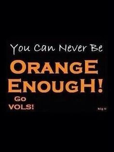 YES!!! It's great to be a Tennessee Vol!!