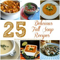 25 Delicious Fall Soup Recipes