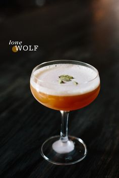 "Lone Wolf - for ""Cocktail Friday"" on Freutcake.com 