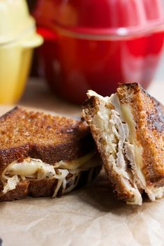 Turn leftover turkey into a Reuben!