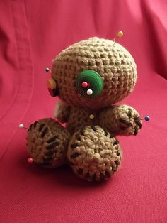 Ravelry: One-Armed Voodoo Doll Ami pattern by Ann D'Angelo