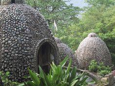 maharishi's ashram, rishikesh  If you go to India you must visit this place
