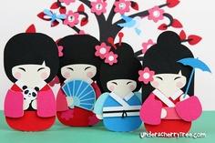 Kyoto cuties - free cutouts