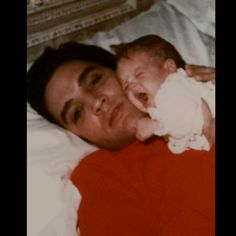 Elvis and baby Lisa Marie