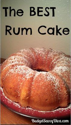 ... rum cake recipe gluten free flour yellow cakes cake rum liquor