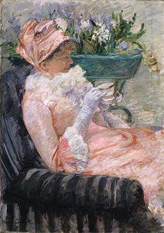 The Cup of Tea by Mary Cassatt 1879