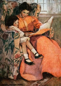 Jessie Wilcox Smith illustration