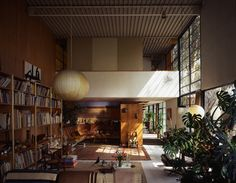 Clean lines and open spaces in the Eames House—a mid-century masterpiece!