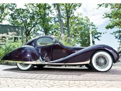 1939 Talbot Lago Teardrop