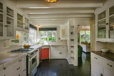 Open House Obsession: Harriet, Mildred, Brenda and Wilma Build a House in Montecito | #California Home + Design