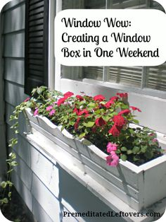 Weekend DIY: How to Build a Window Box in One Weekend