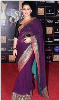 Vidya Balan is brand ambassador of sabyasachi design collection.