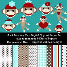 Sock Monkey Elements