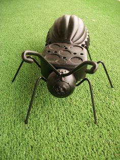 Junk Art Metal Ant/ Garden Art/ Yard Art/ Recycled