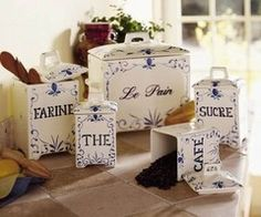 For my French country kitchen