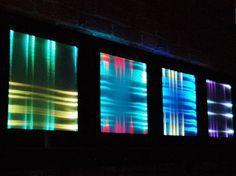 woven fibre optics